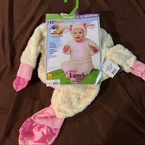 2 piece infant Lamb costume